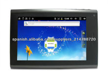 """Pantalla de 7 """"Allwinner A10 función de teléfono PC de la tableta de 5 puntos capacitiva, androide 4.0, 1.5GHz 1GB 8GB profesion"""