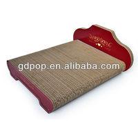 B-CL281 Corrugated Furniture Cat House Cardboard toy Cardboard cat bed