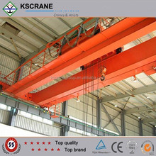 Top Quality Electric Hoist Trolley Double Beam Overhead Travelling EOT Crane Application In Steel Structure Workshop