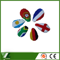 Poland car mirror flying flag and car side mirror cover