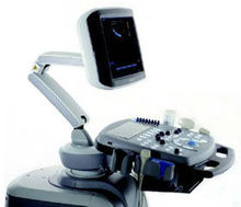 Color Doppler portable ultrasound machine