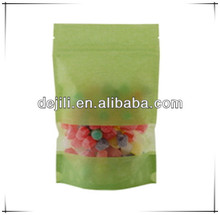 rice paper stand up zip pouches