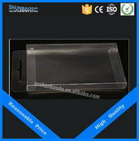 pvc packaging boxes plastic packaging box for cell phone case