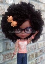Top Beauty 100% Virgin Brazilian human hair 18 inch doll wig