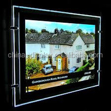 Double faces advertising poster box light for advertisment