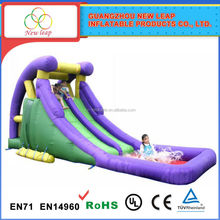 Top quality durable new design strong style color inflatable slide strong for kids fun