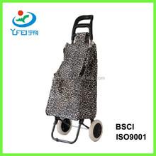 YF-SP005 Wholesale 600D Polyester Shopping Trolley Bag