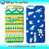Cute mobile phone cover for iphon6 / diy phone case decoration