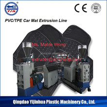 PVC Car Carpet/Matting Extruder Extrusion Line