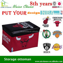 Basketball them special antique stackable stool