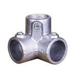 pipe clamp fittings128 three way elbow