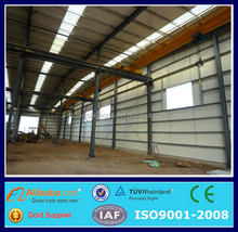 prefabricated metal frame work for building kits