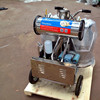 Twin Buckets Hand Operated Portable Milking Machine
