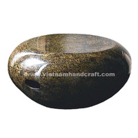 Eco-friendly hand lacquer finished vietnamese eggshell lacquered home furnishing products with handles