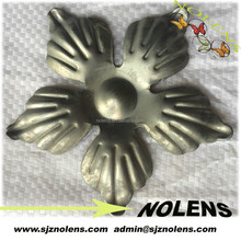 Iron Art Stamped Panels/Rosettes For Artistic Metal Gate/Fence/Stair Railings ,Iron Grills Parts Decorated with for Sales