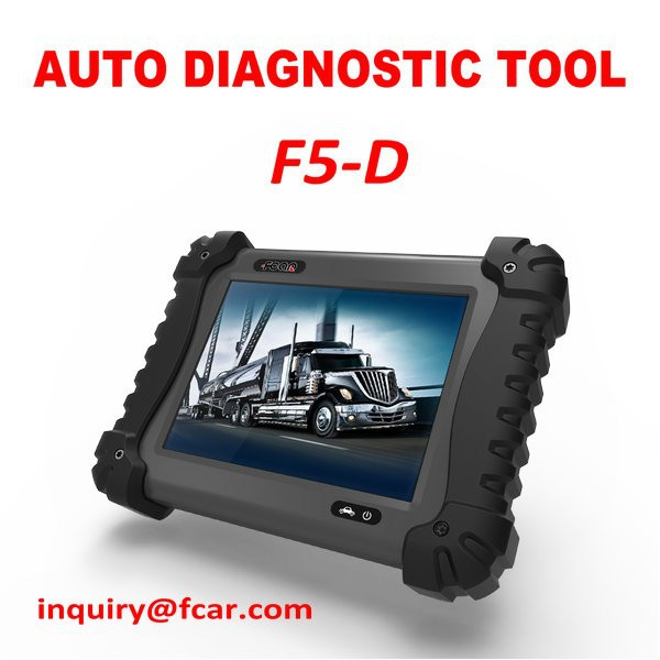 F5 d heavy duty trucks scanner competitive than launch for Mercedes benz computer diagnostic tool