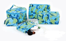 Travel 5pcs PVC Cosmetic Bag set with different shapes