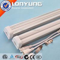 Linear T5 LED Integrative Double Tube 1-8ft 8-60w t8 to t5 light fixture ETL DLC TUV SAA