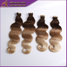 wholesale good qualty india hair ,unprocessed remy 100% human ombre hair braiding hair