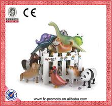 Hybrid models of animal balloons, aluminum foil balloon animals, walking pet balloons children's toys