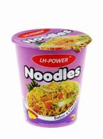 famous instant noodle in cup with soup / HALAL ramen noodle OEM spicy noodle