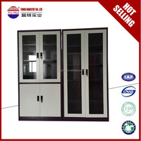 knock down structure metal purple 4 adjustable shelves filing cabinet