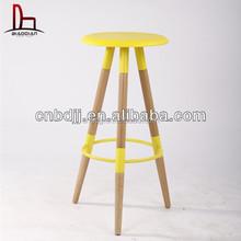 Ikea pas cher couleur jambes de bois tabouret de bar, Chaise de bar en métal, Haute chaise ensembles