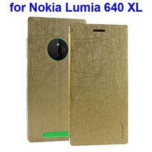 New Products Cell Phone Leather Skin Cover Case for Nokia Lumia 640 XL