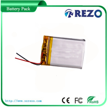 A grade high quality rechargeable li-polymer battery 3.7v with 1500mah