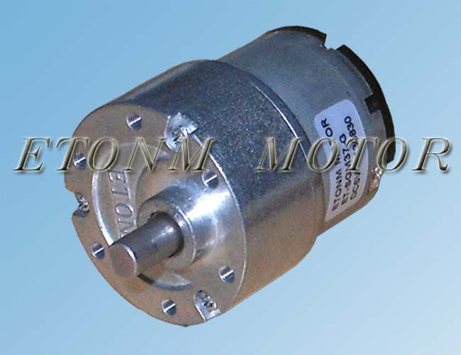 1 1600rpm 3 24vdc Gear Motor Dc Motors From Shenzhen