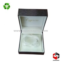 hot sale rigid custom made jewelry packaging luxury leather gift box