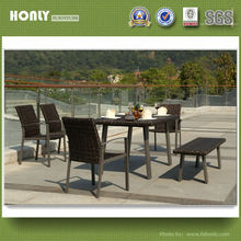 Rattan outdoor/garden/patio/balcony/restaurant chairs and tables