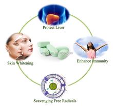 Glutathione pills health food dietary supplements