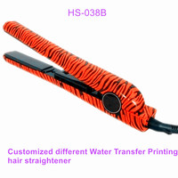 professional Portable Zebra Printed hot selling bella ceramic Hair Straighteners