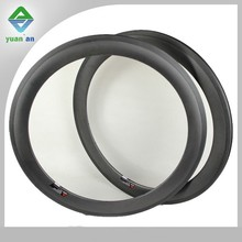 fast delivery 3k matte carbon 28 inch bicycle rims high 60mm wide 23mm tubular carbon rims for road bike track bicycle