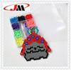 unique design special plastic beads kit for kids,diy aqua beads tool set in plastic box,magic beads toys with plastic tweezer