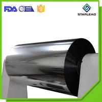 Metalized Polyester MET PET Film Metallised Polymer Film Metallic Mylar