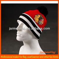 cheap custom winter knitted beanie hat