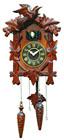 Relógio de parede decorativos relógio engrenagem de madeira relógio cuco de madeira