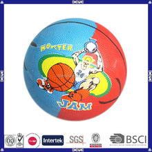2014 hot selling promotional cute colorful kids wholesale mini basketball