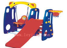 Outdoor kids swing and slide LY-117C