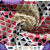 Feimei Cotton Knit Print Fabric Cotton Span Reactive Geometry Printed Fabric