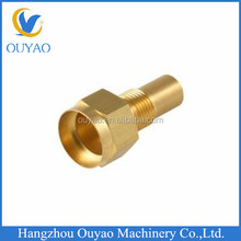 Custom Made CNC Machining Brass Hose Adapters Automotive Spare Strong Style Parts