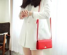 Fashion gender women pu leather shoulder bag sling cross body bag