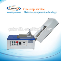 Coin Cell Electrode coating machine with dryer and vacuum pump, battery lab equipment