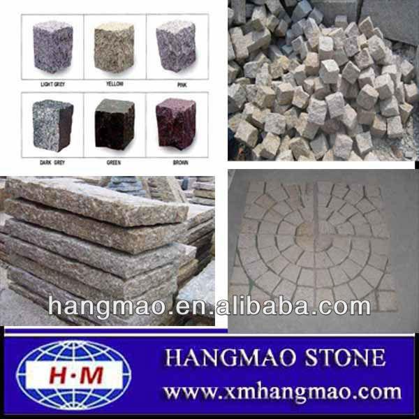 Al aire libre gris cubo de granito sin pulir de piedra de - Granito sin pulir ...