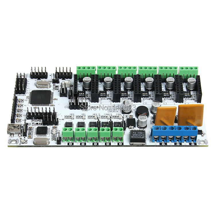 In virtue of the integrated control board which is based on ATmegau2019su2018AVR.