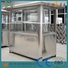 Low cost prefabricated Kiosk Booth Sentry Box, Guard House with high quality