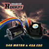Rc car ESC 45A and motor IO 2.0A combo RC toy - 1/10th Scale 4wd Brushless Moto rPowered off-Road Buggy Booster-Pro