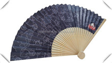 Customized recyclable portable paper hand fan